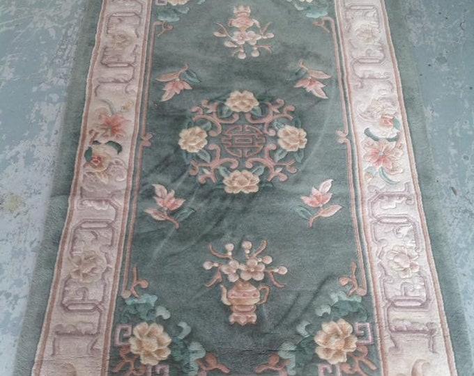 Sunning Vintage Chinese Oriental Ground Rug