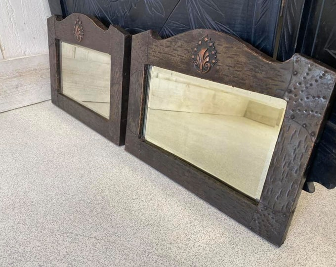 Stunning Pair of Arts and Crafts Mirrors