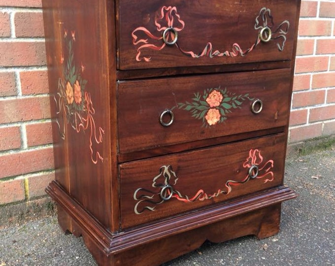 C1940 Scratch Built Charming Chest of Drawers Bank of Drawers