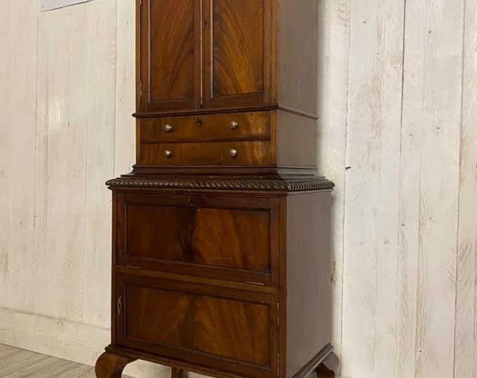 Edwardian Dome Top Drinks Cabinet