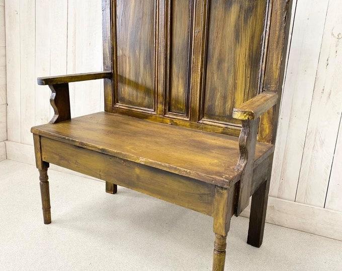 Antique Settle Bench