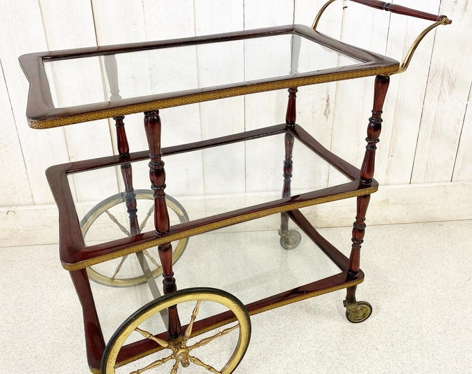 Antique Quirky Serving Drinks Trolley