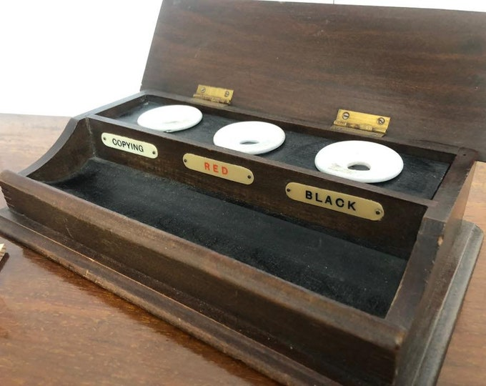 Rare Vintage Pen and Ink Stand
