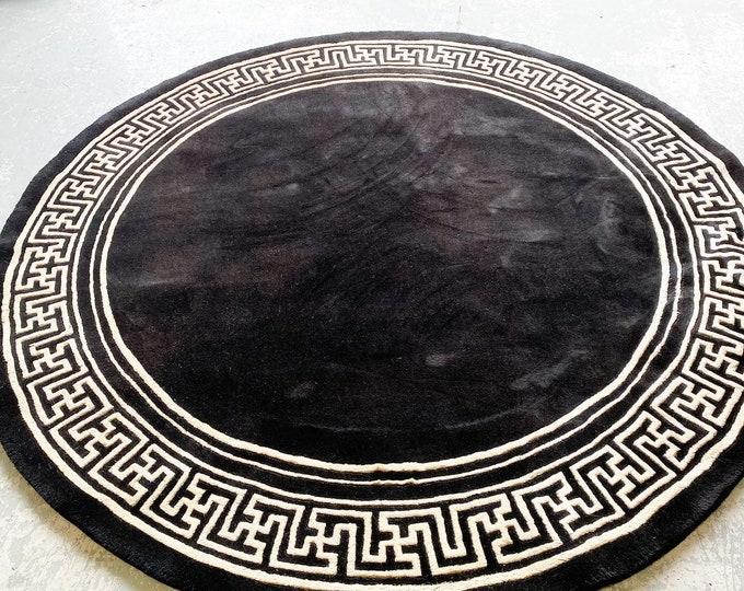 Large Chinese Round Rug