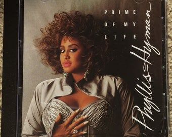 Phyllis Hyman / Prime Of My Life CD 90s Mint Condition : Quiet Storm, Vocal Jazz, R&B.