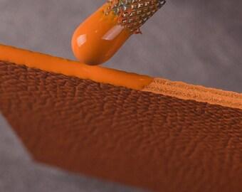 Leather edge paint | Etsy
