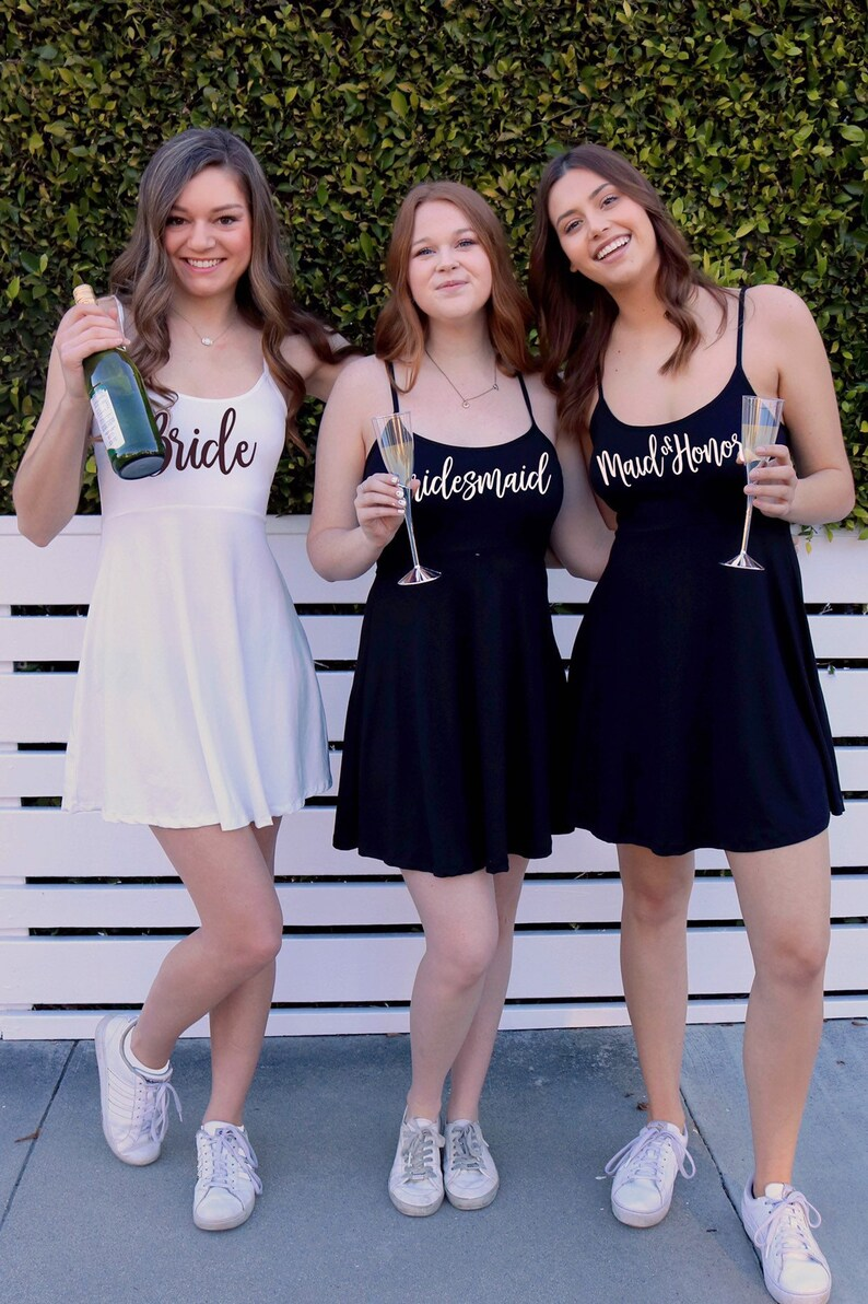 190ad227b0 Bridal Party Getting Ready Outfits - Bridal Party Dress - Bachelorette  Party Dress - Swimsuit Coverup - Bridesmaid Gifts - Bride Tribe Dress