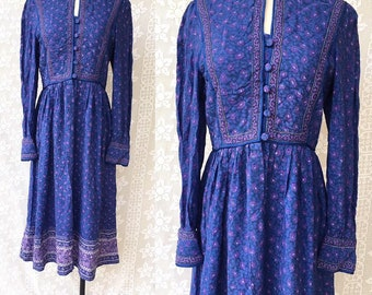 0d8f6bcb93 Vintage indian dress | Etsy