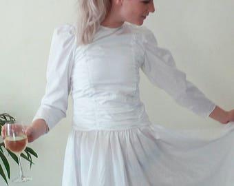 80s wedding dress XXS