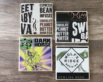 Assorted Porter Beer Coasters