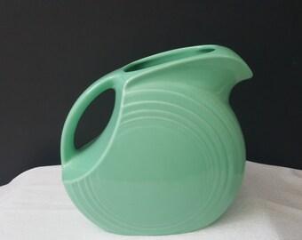 Fiestaware Juice Jug. Green Post 1986
