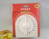 Vintage Pyrex Kitchen Timer NOS Kitchen Timer Kitchen Accessories Kitchen Decor Vintage Kitchen Clocks Pyrex Accessories 60 Minute Timer