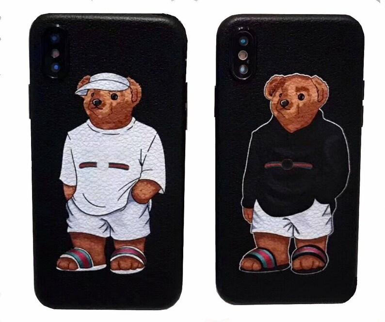 Gucci orso telefono cassa cassa del telefono ispirato Gucci  28b66da06a36