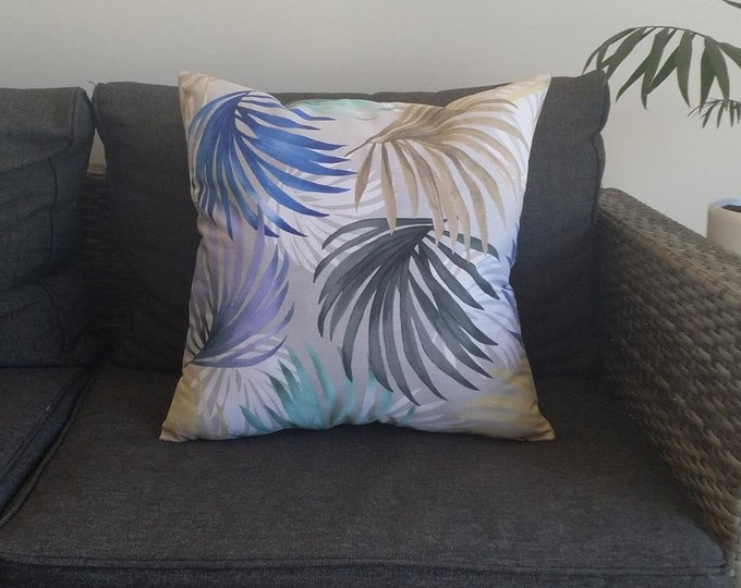 Rainbow Palms cushion cover