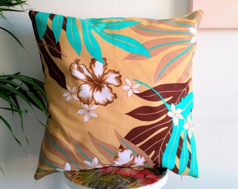 Tahitian fabric cushion cover