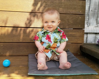 Tropical baby shirt