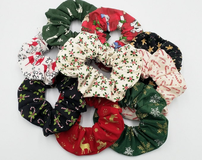 Featured listing image: Christmas scrunchies