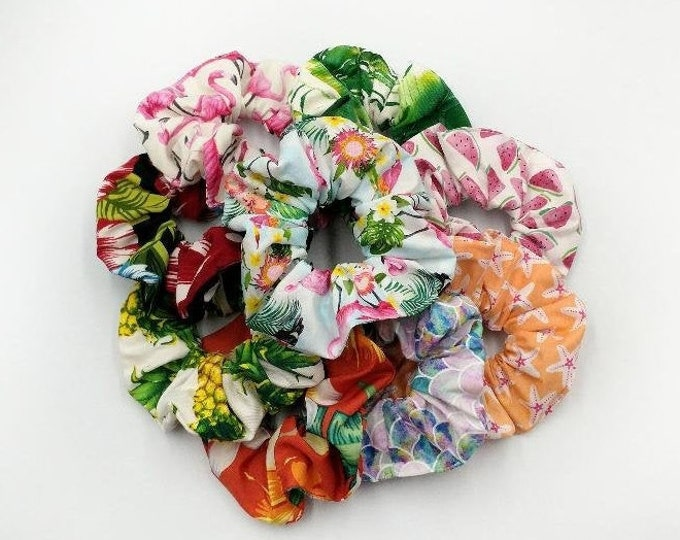 Featured listing image: Tropical Scrunchies