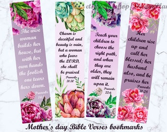 christian bookmarks for women mother s day bible verses
