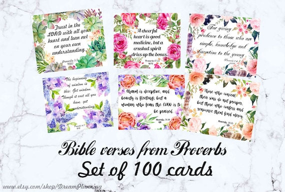 image relating to Prayer Cards Printable identified as Bible Verse Playing cards Printable Bible Journaling Playing cards Scripture Playing cards Christian Prayer Playing cards Bible Verses Proverbs Bible Memory Verses Playing cards