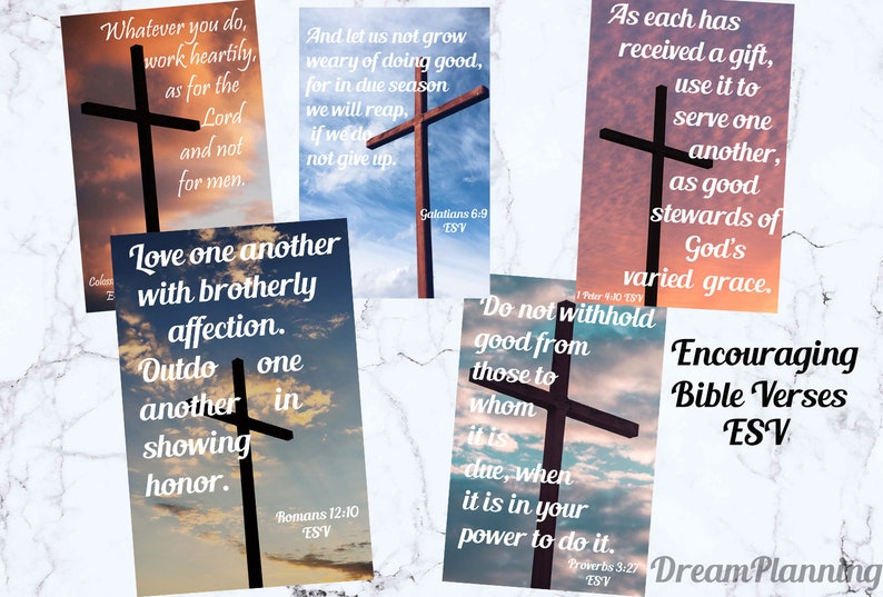 ESV bible verse card printable encouraging bible verses scripture cards  bible study cards scripture memory cards faith cards bible bookmark