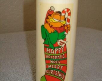 Vintage Garfield Candle