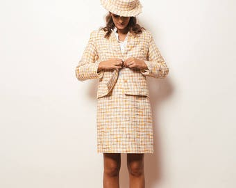 Veste en tweed costume