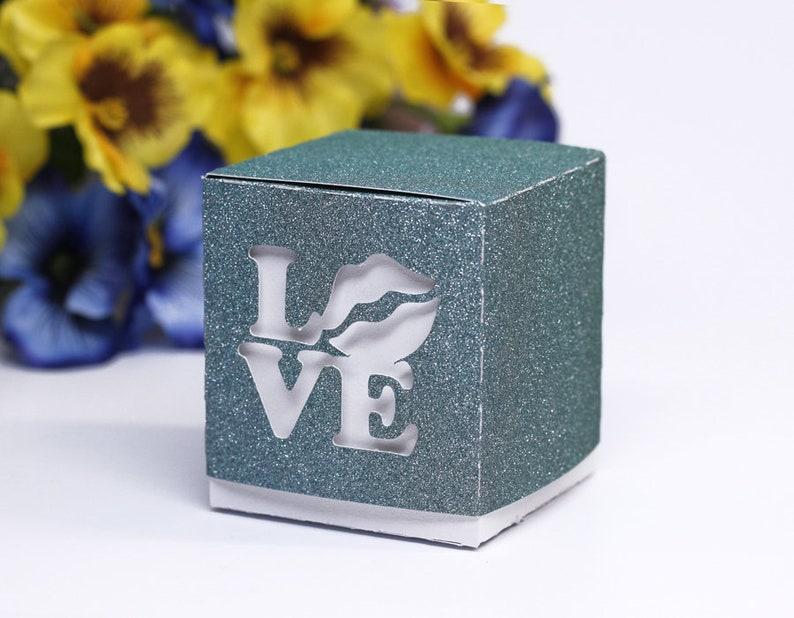 DIY SVG cutting files templates Gift Boxes Favor Love Sun Fleur de Lis Cricut Silhouette  Present 1041SV