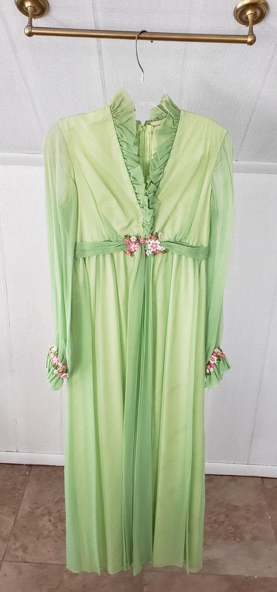 Vintage Emma Domb Floor Length Dress