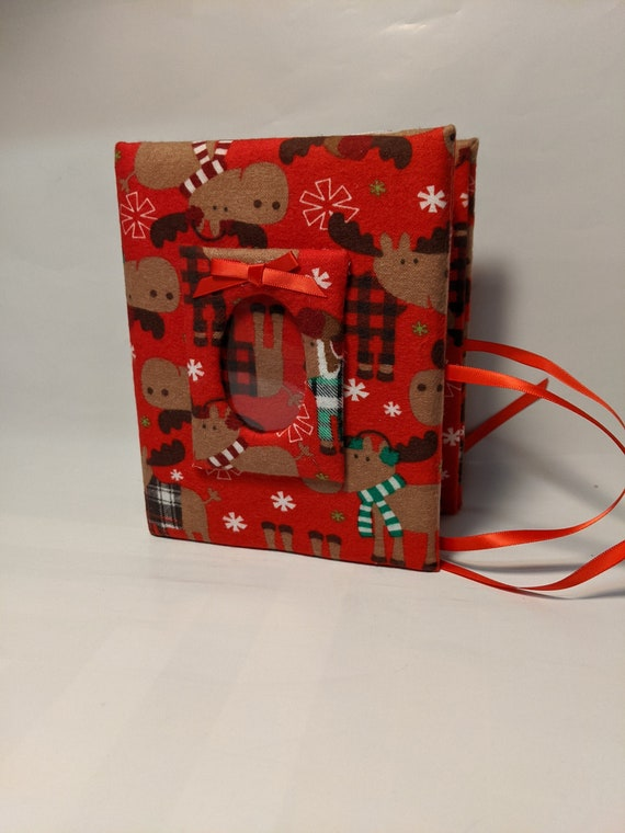 Perfect UNIQUE Christmas Gift! Holds 100 4x6 Photos Christmas Trees Christmas Photo Album Handmade