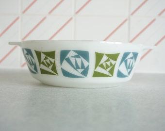Pyrex JAJ -  'Checkers' Casserole Dish 1 litre (no lid)