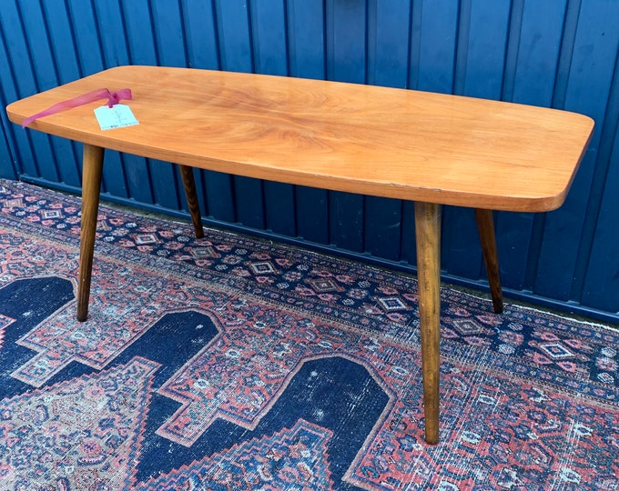 Authentic Mid-Century Coffee Table - Beautiful Vintage Patina