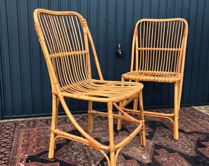Vintage Bamboo Chairs - Beautiful