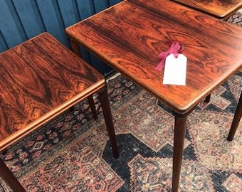 Danish Mid Century Nesting Tables - Side Tables