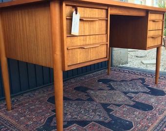 Rare Scandinavian Style Mid Century Desk