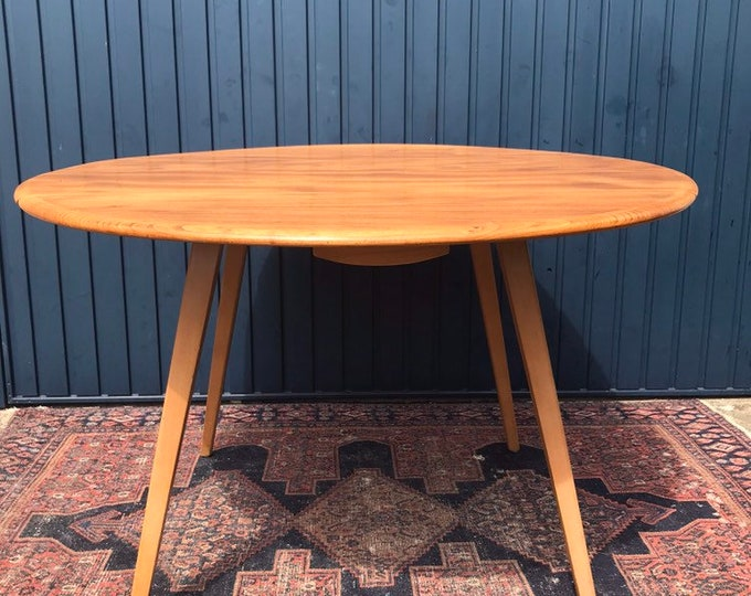 Vintage Ercol Originals Drop Leaf Dining Table