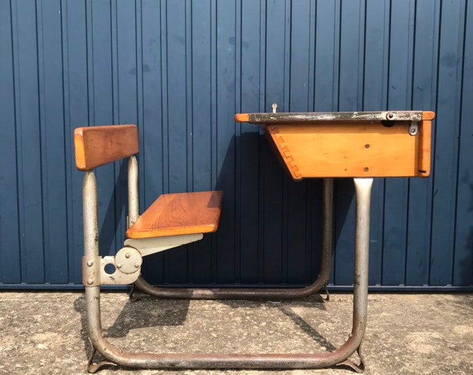 Childs Vintage School Desk - Very stable