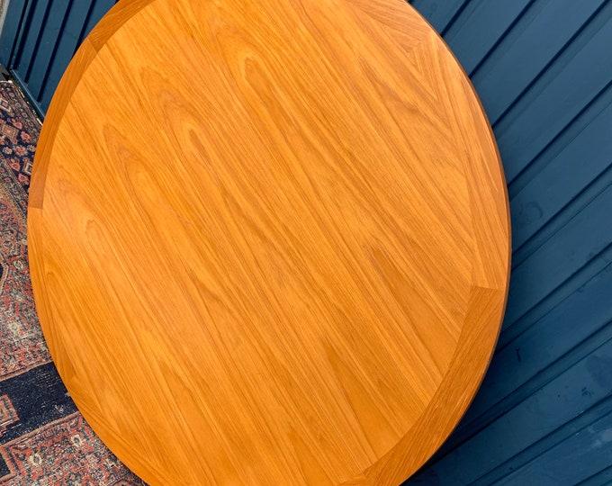Circular G Plan Extending Dining Table