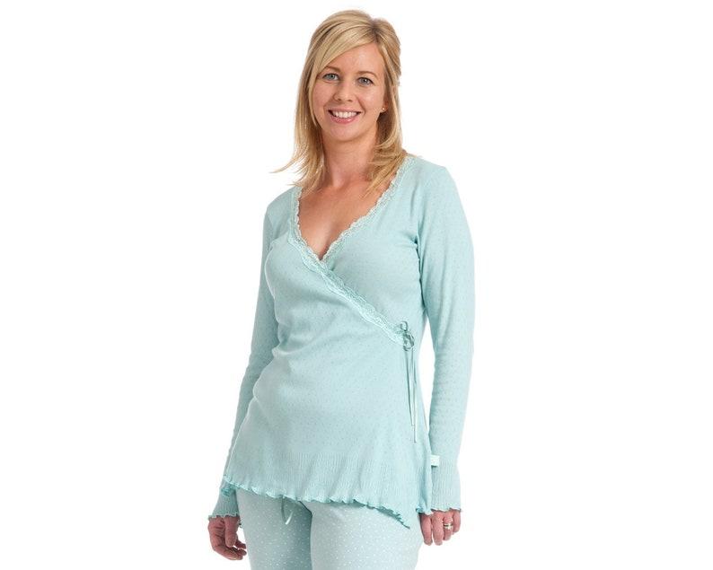 Nursing Top Wrap Cardigan Giselle image 0
