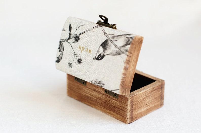 Engagement Ring Box Wooden Ring Box Rustic Wedding Ring Box WE DO Ring Bearer Box Ring Box Wedding Ring Box Ring Holder