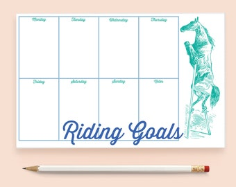 Printable Shopping List Equestrian Horse  Running Approx.Size 4/'/'x 11/'/' Notepads-Shopping Note pads-Vintage-PDF,JPEG /& PNG Files,300 dpi.