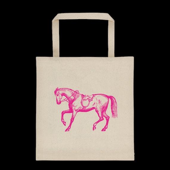 Reusable Bag Horse Bag ~ Brown Market Bag Market Tote Horse Tote Bag Gift for Horse Lover Equine Photography Photo Bag Shopping Bag