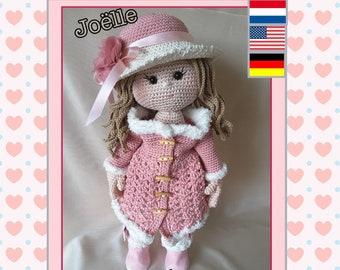 hackelanleitung crochet doll pattern Deutsch Nederlands Amigurumi haakpatroon Shirley English