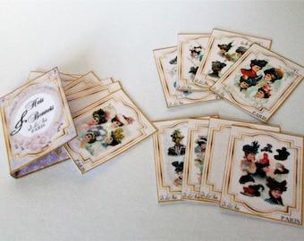 Dollhouse  1:12 scale 6  Miniature MAASAI WARRIOR  Prints