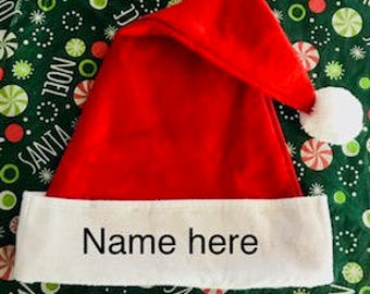e80ecdb8595 personalized santa hat