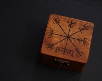 Wooden Vegvisir Box