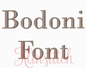 Bodoni | Etsy