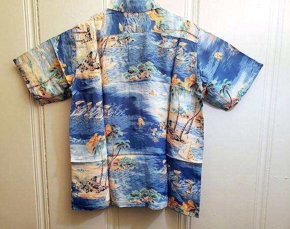 1950s Polynesian SportSwear Hawaiian Shirt - image 2