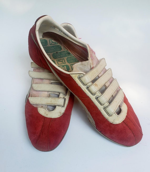 Vintage 1960s Puma Track & Field Shoes