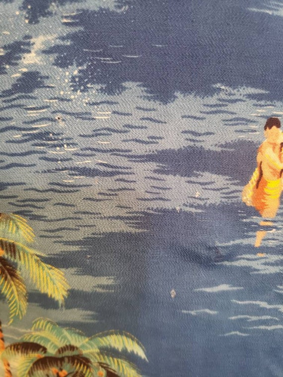 1950s Polynesian SportSwear Hawaiian Shirt - image 10